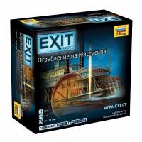 Настольная игра Exit. Ограбление на Миссисипи